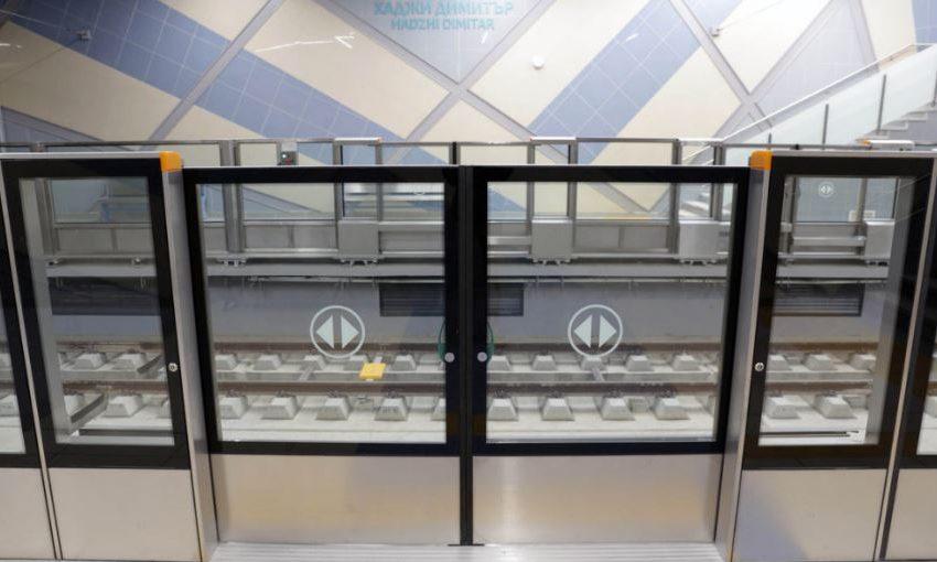 Автоматичните прегради монтират и по първата линия на метрото