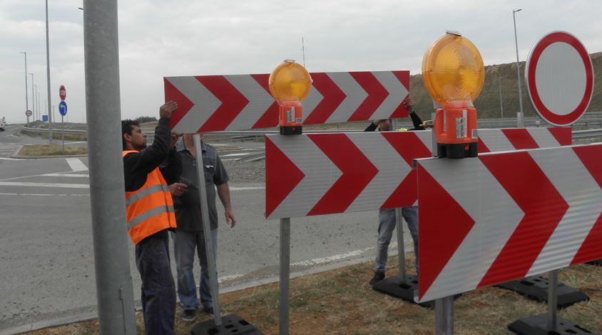 """Движението на АМ """"Тракия"""" при 152-ри км е затруднено заради катастрофа"""