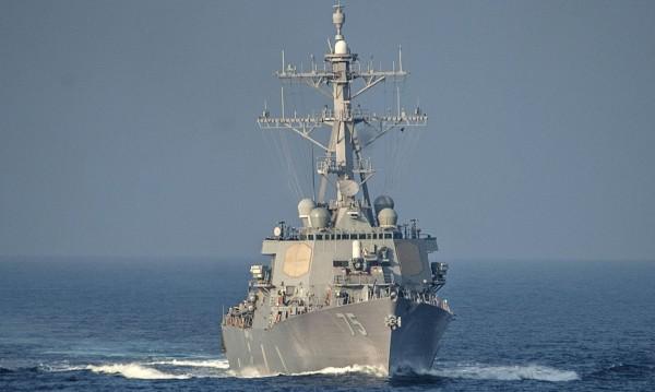Китайските военни изгониха разрушителя на ВМС на САЩ от териториални води