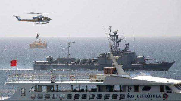 Военни учения на Франция, Гърция, Италия и Кипър в Източното Средиземноморие