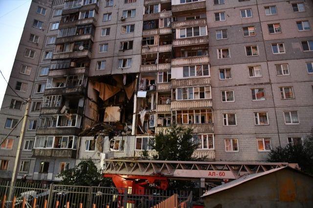 (ВИДЕО) В Ярославъл гръмна газова бутилка в многоетажна сграда