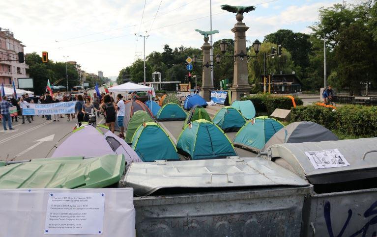 49-и ден антиправителствени протести в столицата
