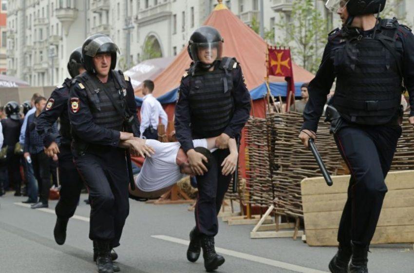 Протест срещу Путин в Хабаровск осма поредна събота