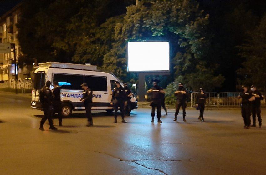 Премахнаха блокадата пред Румънското посолство
