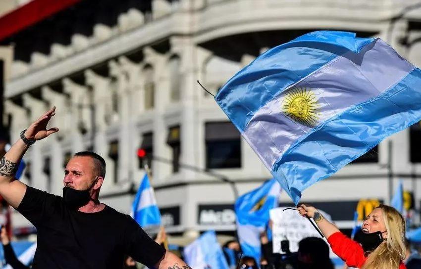 Аржентина протестира против Covid-мерките