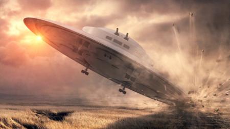 (ВИДЕО)Руски космонавт показа видео с НЛО