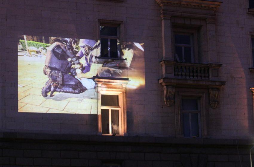Антиправителствен протест за 61-ва поредна вечер в София