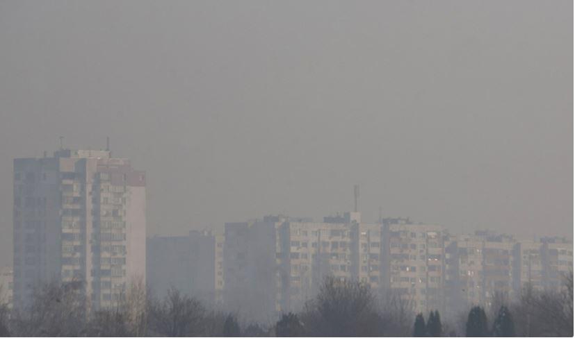 Смог и мръсен въздух поставят София в оранжевия сектор