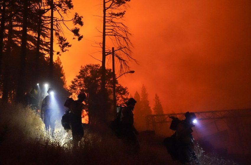 (ВИДЕО) Огнен апокалипсис в САЩ – горят близо милион и половина хектара