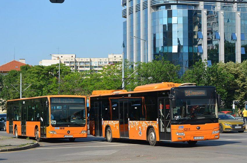 Проверки за носене на маски в градския транспорт в София