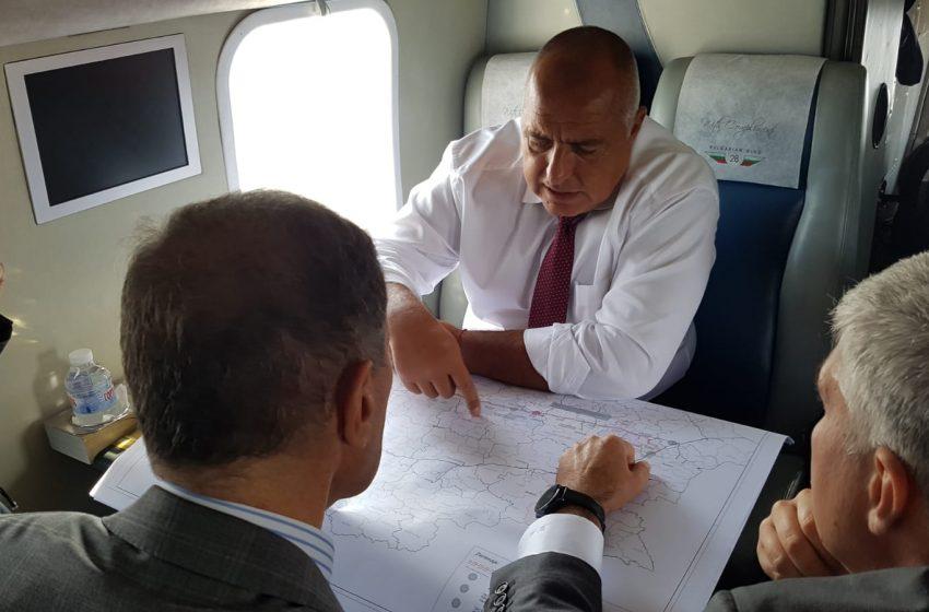 """Бойко Борисов на трасето на """"Балкански поток"""": Работим за истинска 100% енергийна диверсификация"""