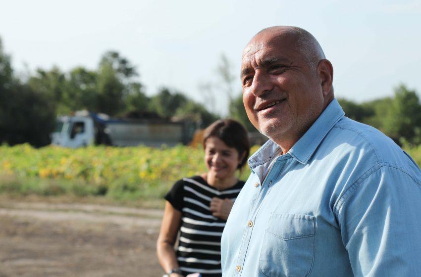 """Борисов провери старта на изграждането на отсечката между пътен възел """"Макреш"""" и обходния път на гр. Монтана"""