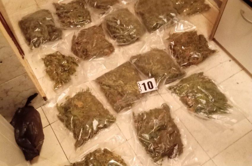 """(СНИМКИ) Близо 2 кг наркотици намери полицията в кв. """"Надежда"""" в столицата"""