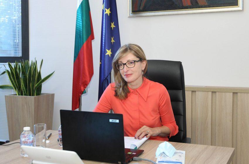"""Захариева: Казваме """"не"""" на преговорите, а не на членството на Северна Македония в ЕС"""