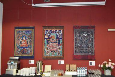 """Пътуващата изложба """"Мандала – Храмът на тайнствената тантра"""" беше открита в Русе"""
