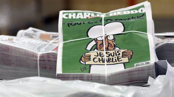 """С карикатура на Ердоган излезе днешният брой на """"Шарли ебдо"""""""