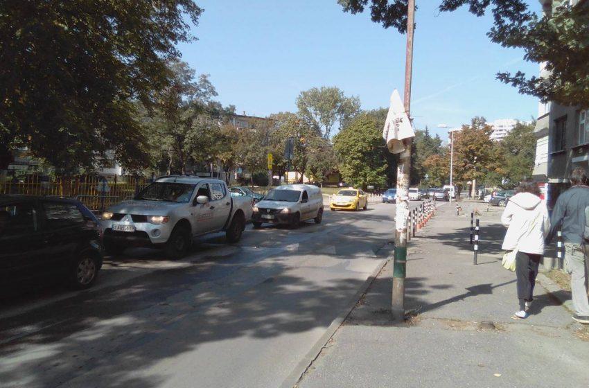 Опасни улици до столичното училище 92-ро ОУ