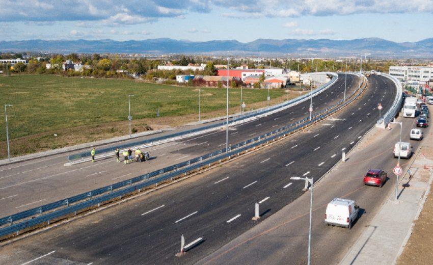 Пускат за движение ремонтиран участък от Южната дъга на Софийския околовръстен път
