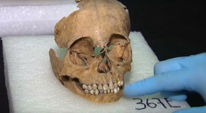 Откриха човешки череп в кюстендилско село