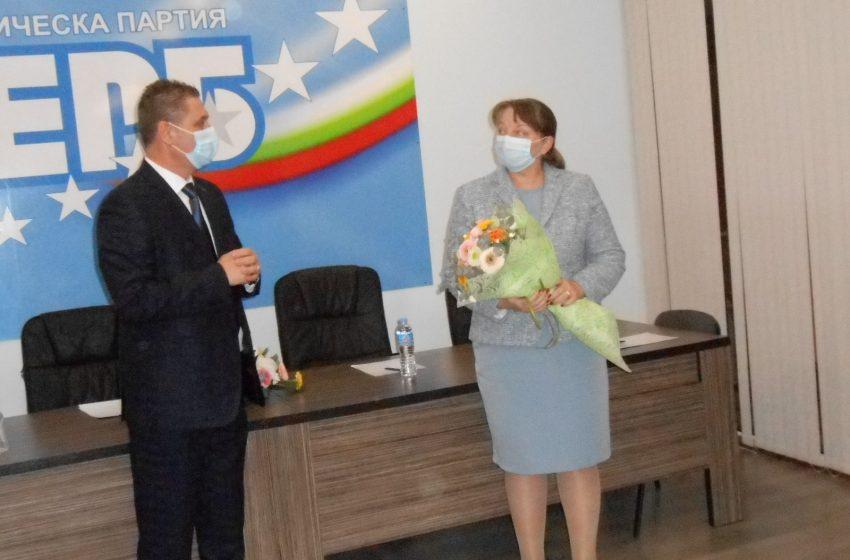 Новият областен координатор на ГЕРБ – Добрич Деница Сачева бе представена пред актива на партията в Добрич