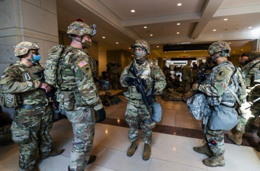 25 000 бойци от Националната гвардия ще охраняват церемонията с Байдън