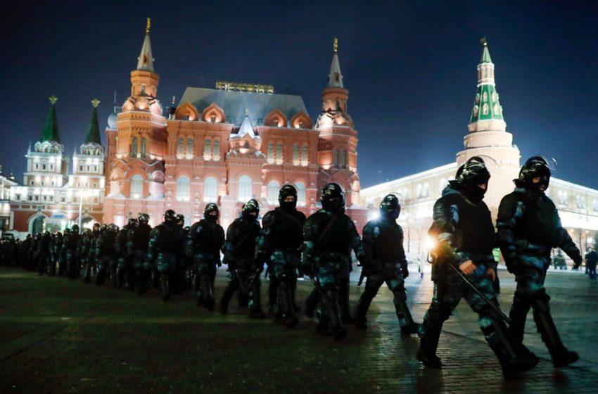 Над 1400 души са задържани на протести в подкрепа на Навални в Русия