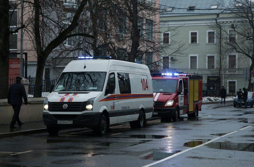 Химическа атака срещу руски опозиционен вестник насред Москва