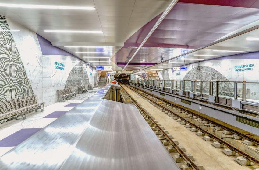 Четири нови станции на метрото влизат в експлоатация до края на април
