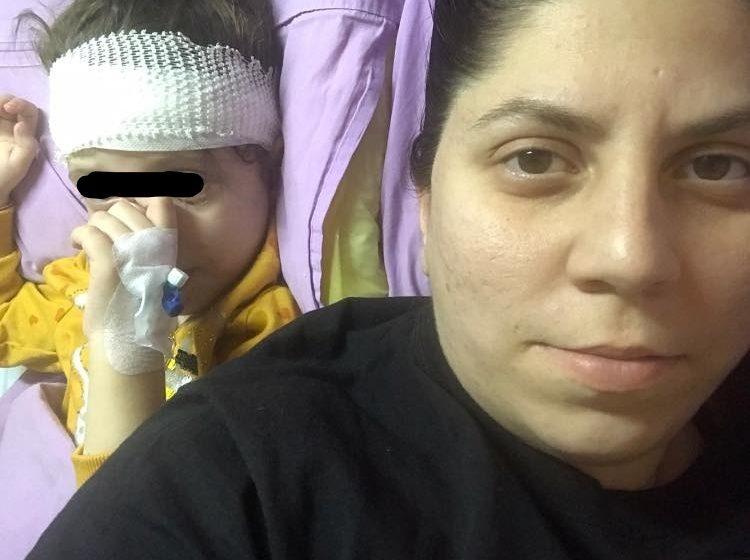 4-годишното момиче нападнато от питбул е с  фрактури на черепа