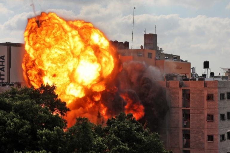 """Израелската армия е унищожила офиса на ръководителя на службата за сигурност на """"Хамас"""""""