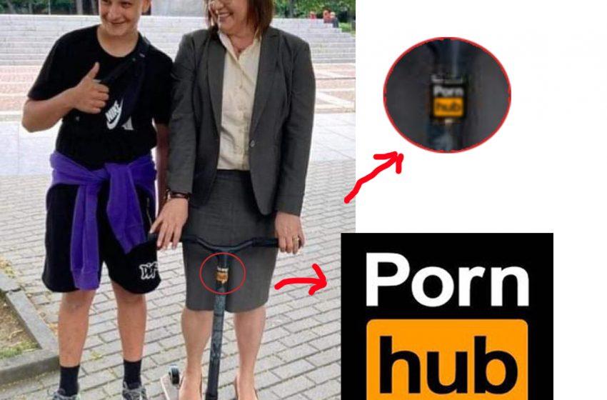 """Нинова се """"качи"""" на Porn hub и се пусна във фейсбук"""