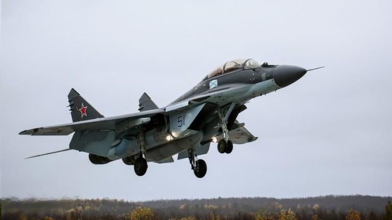 Самолет МиГ на българските ВВС е паднал в района на Шабла по време на учение