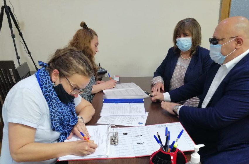 Коалиция ГЕРБ – СДС регистрира листата си с кандидат-депутати в Силистра