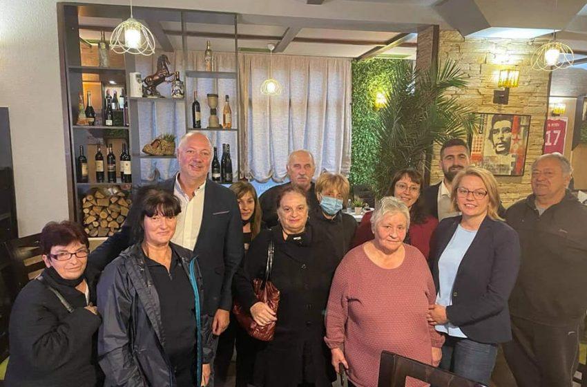 (СНИМКИ) Росен Желязков в Благоевград: Надеждите на хората са отправени към ГЕРБ, защото сме се справили с много кризи